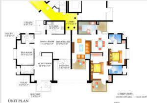 Floor Plan 1 Piyush Heights