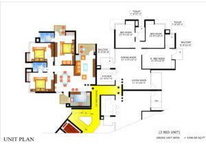 Floor Plan 2 Piyush Heights